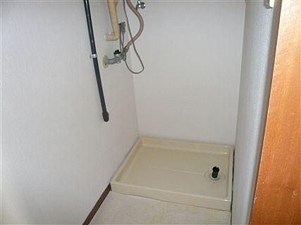 洗濯機置場は嬉しい室内