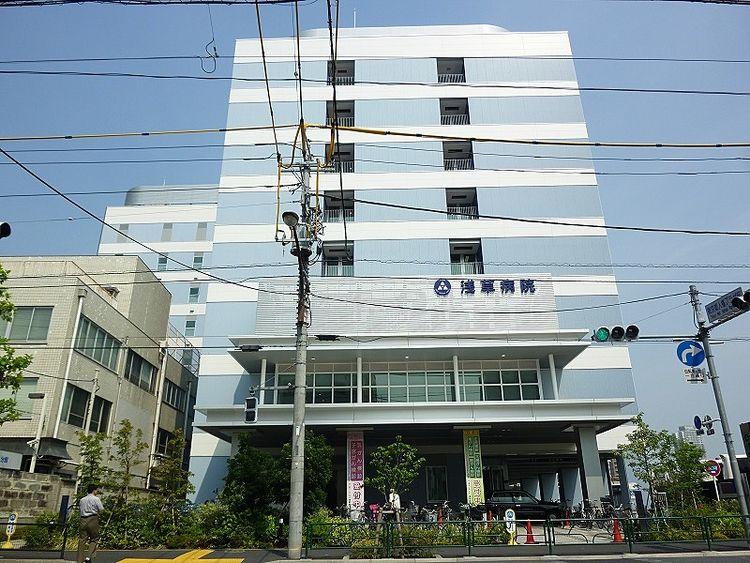 浅草ロイヤルマンションそばの浅草病院です。
