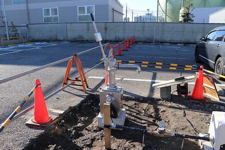 同じく境内整備事業で汲み上げた井戸の井戸水も使用できます。