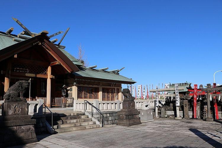 伊勢神宮と同じ天照大御神を祀る由緒ある神社です。