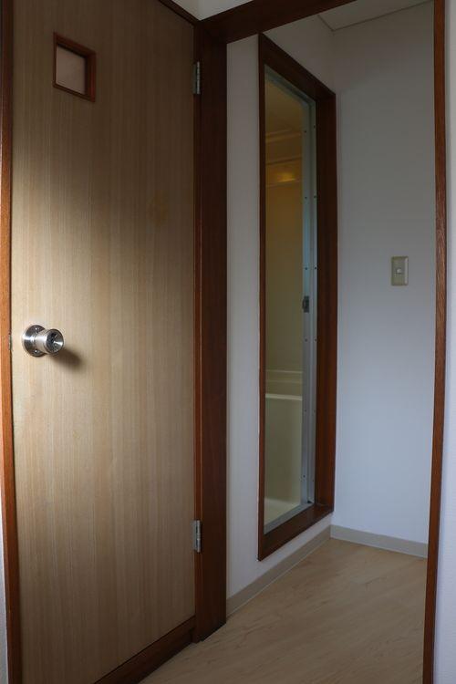 菊地ビル201号室の脱衣所です。