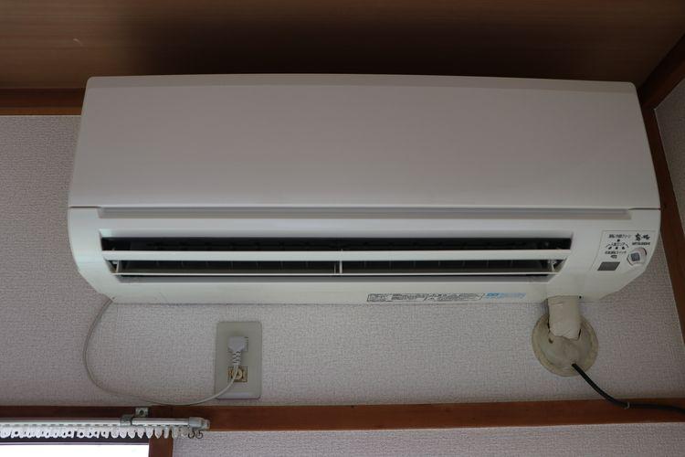 和室部分にエアコンあり