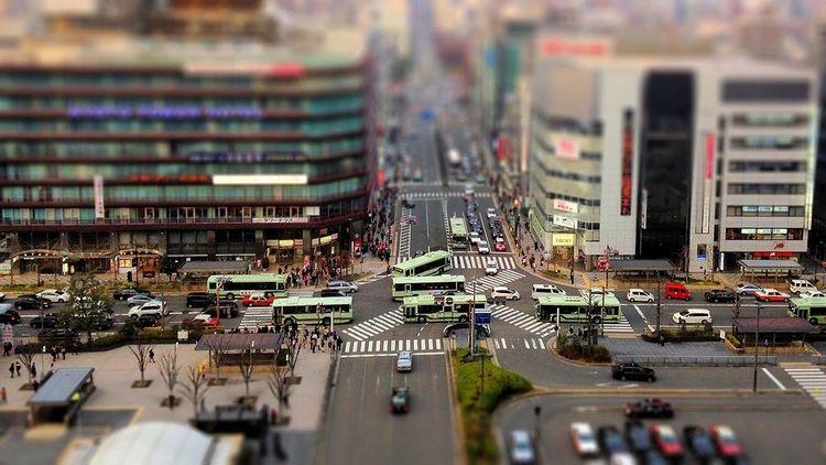 初詣の影響で浅草寺周辺はバス運行ルートに影響が出ます。