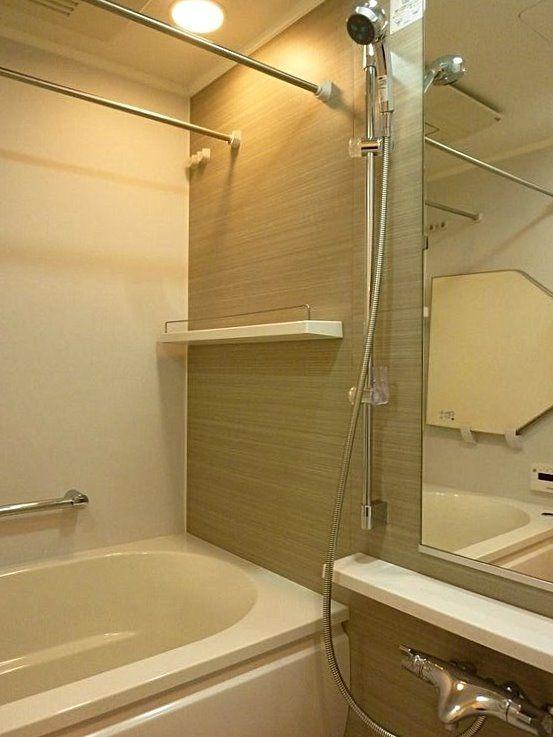 台東区西浅草3丁目にある浅草タワーの浴室写真です。
