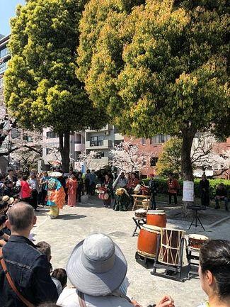 和太鼓と笛の舞