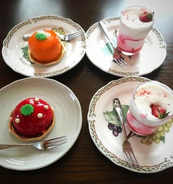 台東区寿と上野にあるクレール・ドゥ・リュンヌのケーキです。