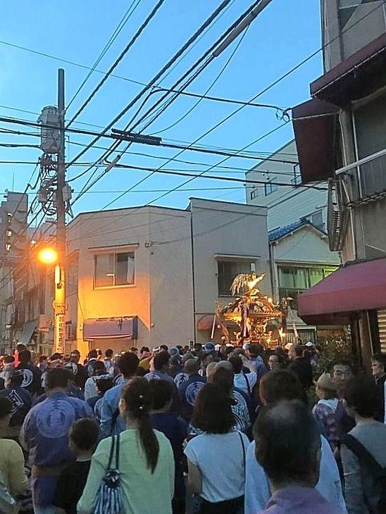 2018年下谷神社大祭の様子です。