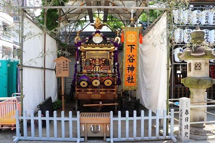 2019年下谷神社大祭の様子です。