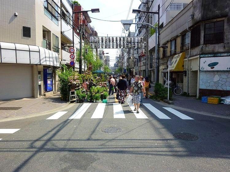 昨年の植木市(一の富士)の様子