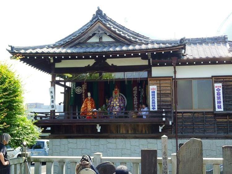 昨年の石浜神社大祭の様子