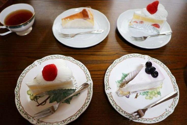 ラ・パティスリー・ドゥ・ナツのケーキ。