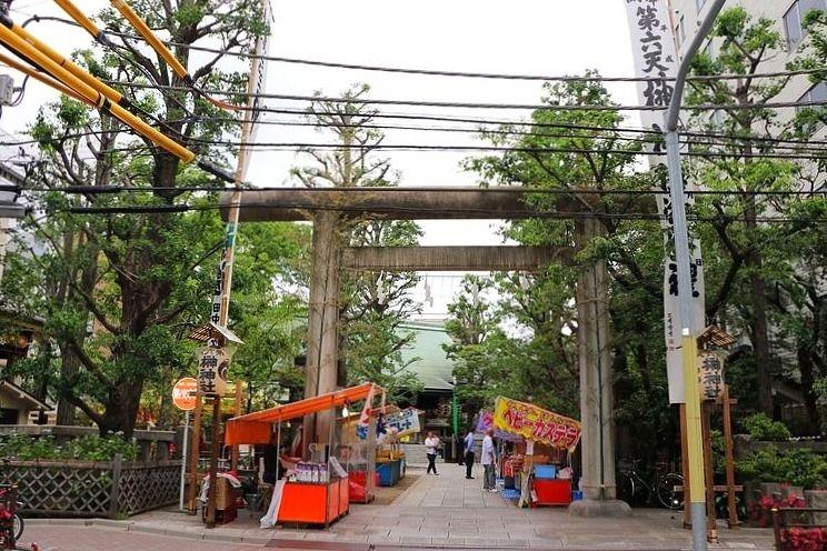アートライフで、第六天榊神社で行われている例大祭を紹介します。