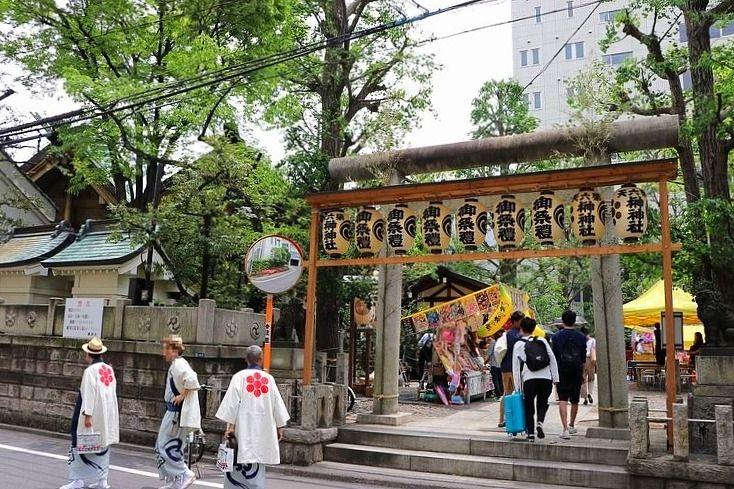第六天榊神社、2019年例大祭の様子です。