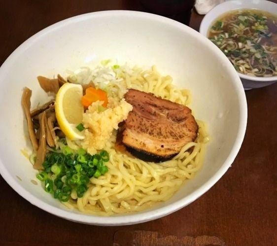 東上野3丁目にある、一真亭の拌麺の写真です。