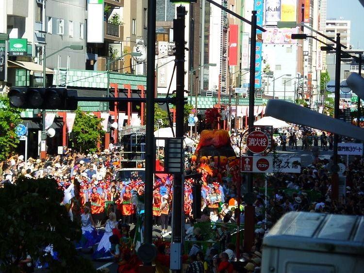【2019年】今年も開催されます【浅草サンバカーニバル】