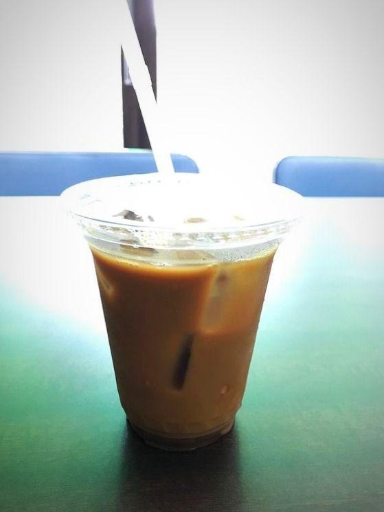 台東区東上野5丁目にある、稲荷町珈琲のアイスコ―ヒーです。
