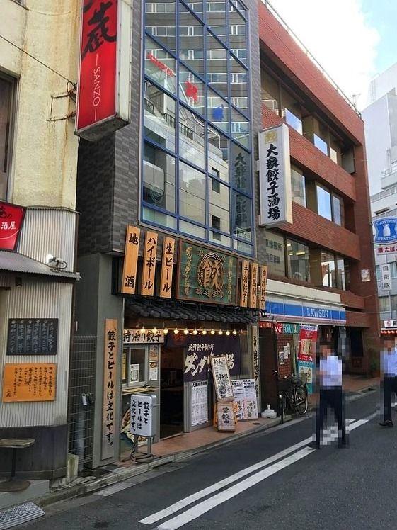 アートライフで台東区東上野3丁目にある居酒屋、餃子製作所ダンダダン酒場を紹介します。