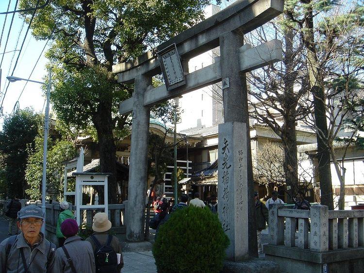 矢先稲荷神社鳥居