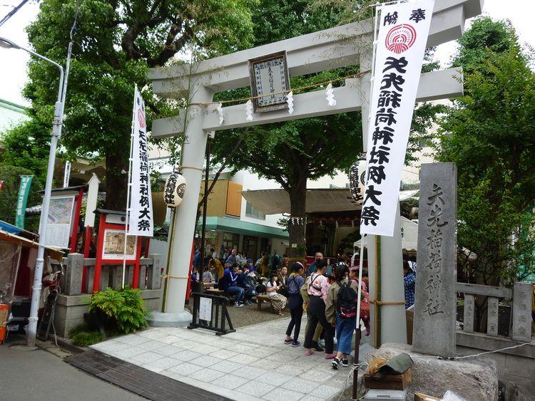矢先稲荷神社例大祭に行ってきました