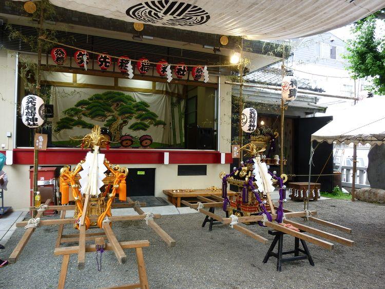 矢先稲荷神社例大祭お神輿