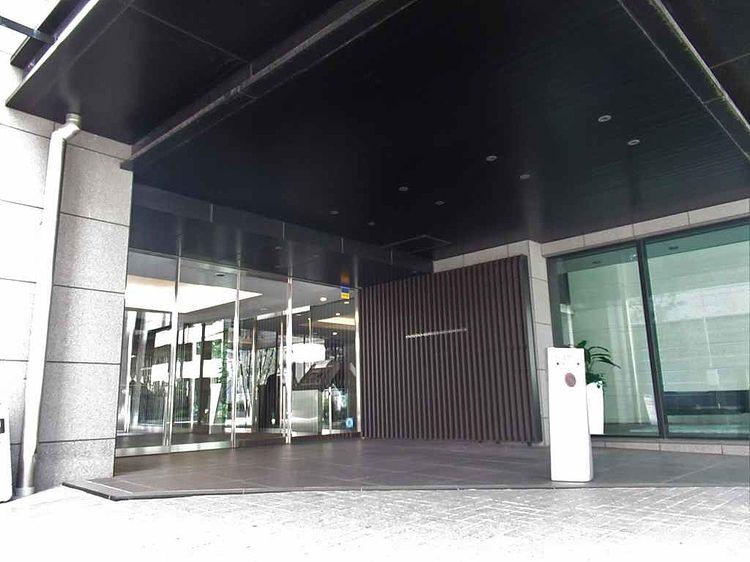 台東区蔵前にある分譲マンション、大江戸タワーレジデンスのエントランス写真です。