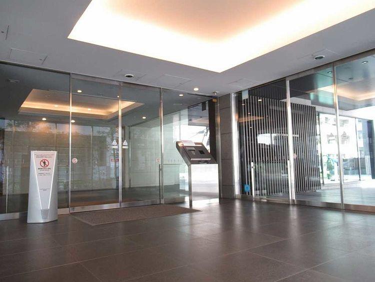 台東区蔵前にある分譲マンション、大江戸タワーレジデンスのオートロック写真です。