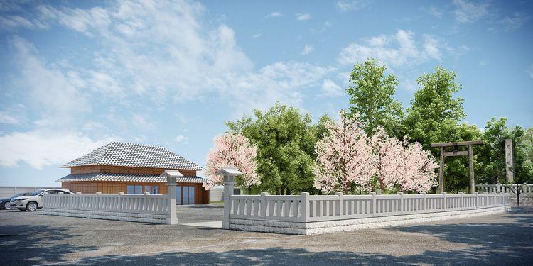 【石浜神社】玉垣を奉納させていただきました【南千住3丁目】