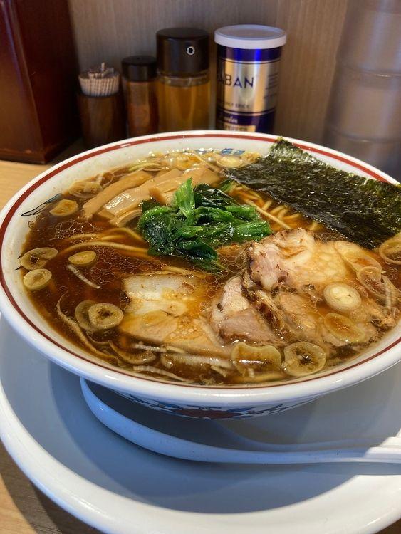 台東区上野6丁目にあるラーメン店、超大吉のラーメンです。
