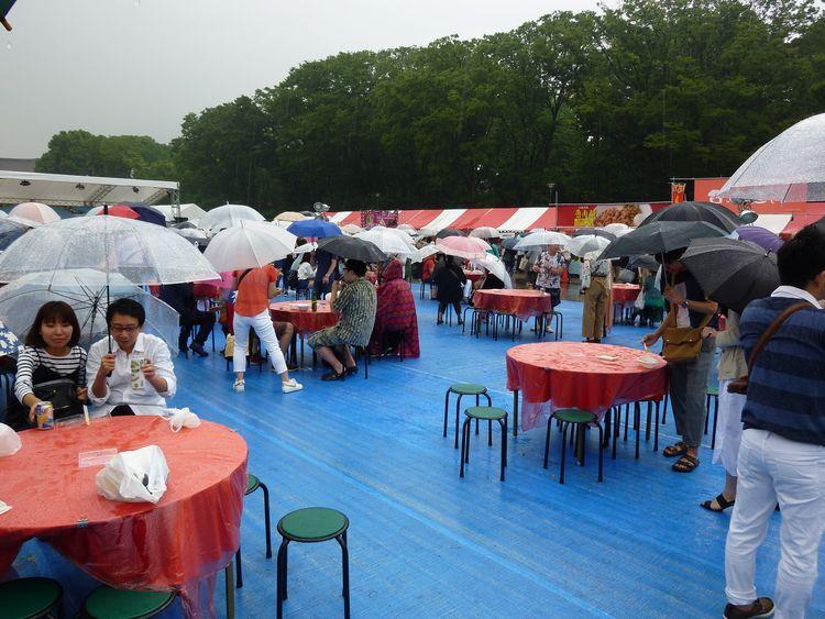 台湾フェスティバルTOKYO2018飲食スペースです