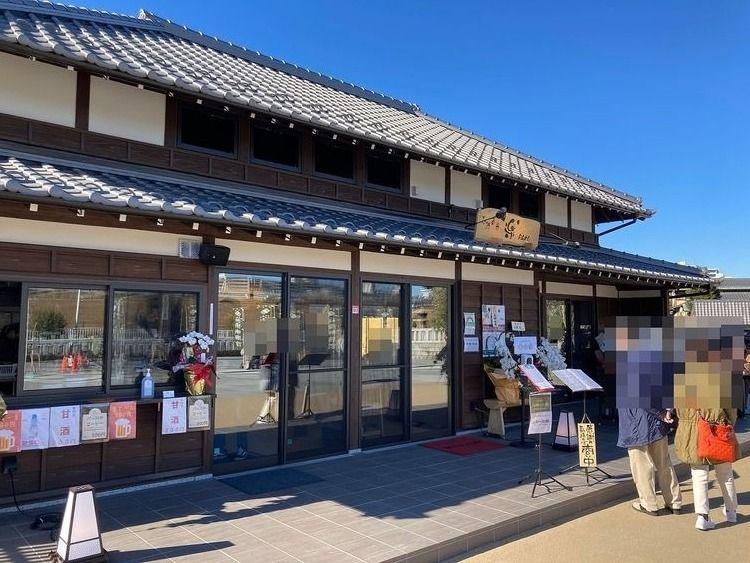 【石浜神社】石濱茶寮~楽~【神社カフェ】