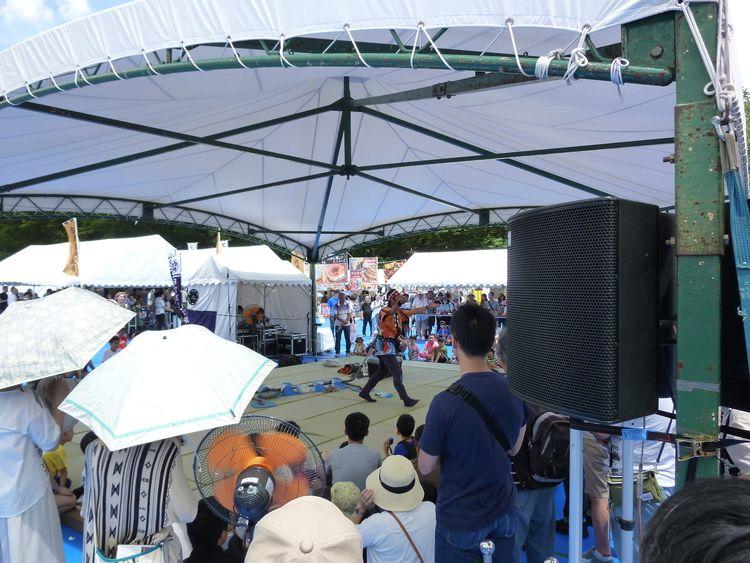 日蘭友好SAMURAIフェス、ステージ公演です。