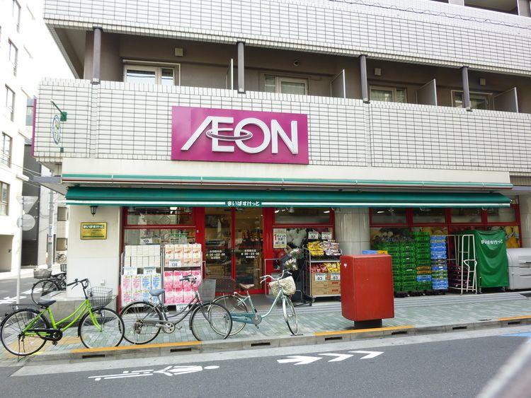 台東区松が谷3丁目にある、まいばすけっと合羽橋北店の外観写真です。