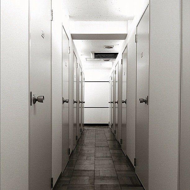 屋内型トランクルームの写真です。