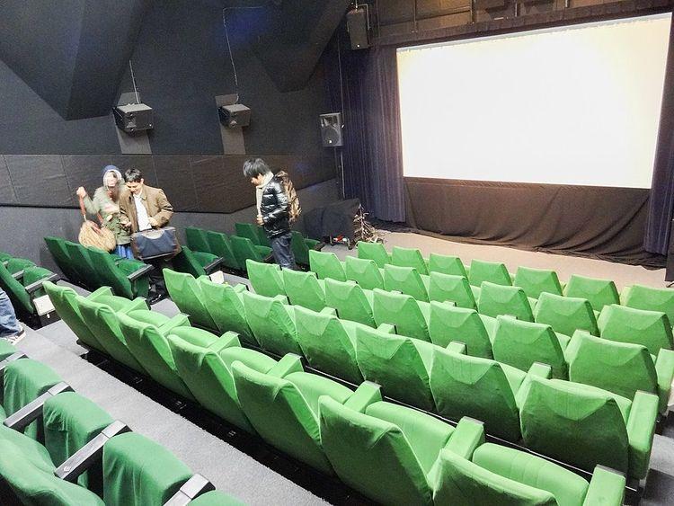 小規模映画館の会場写真です。