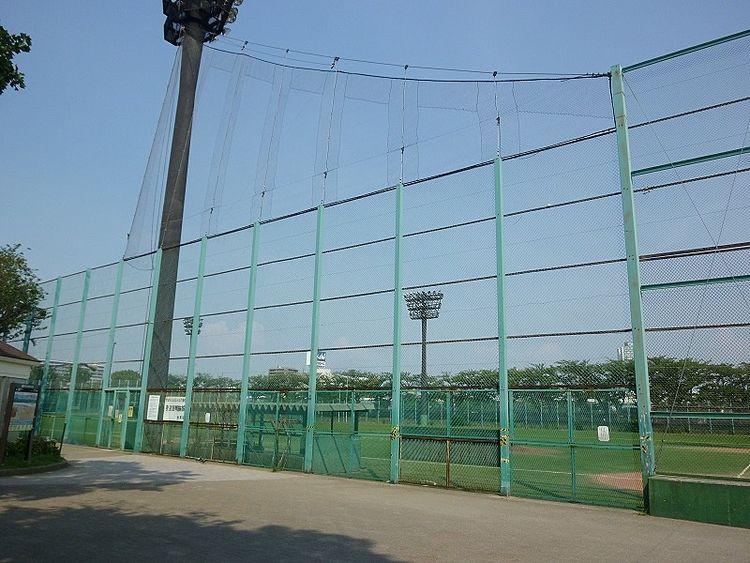 台東リバーサイドスポーツセンターの野球場です。