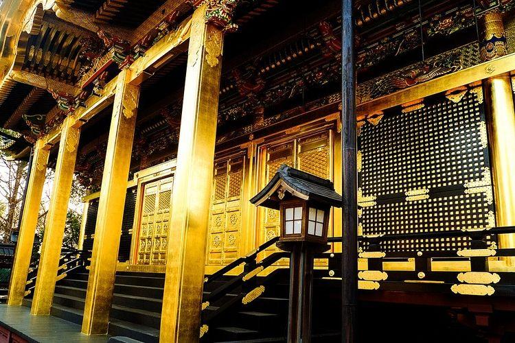 上野公園にある上野寛永寺の写真です。