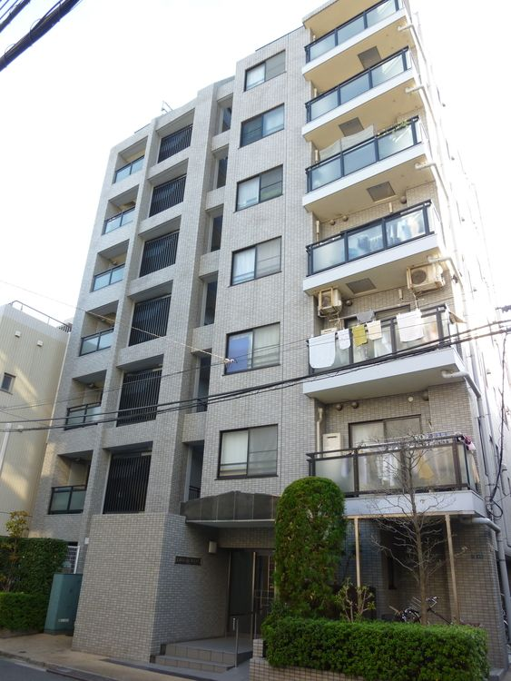 藤和シティホームズ上野の外観写真です。